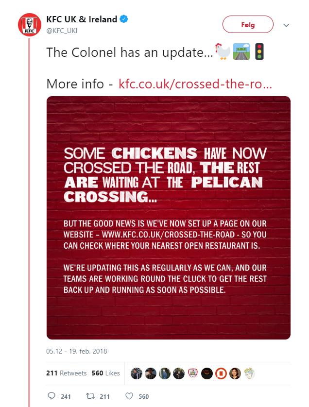 KFC tweet 2